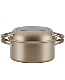 """Anolon Advanced Home Hard-Anodized Nonstick Two Step Meal Set, 5-Qt. Dutch Oven and and 10"""" Everything Pan"""