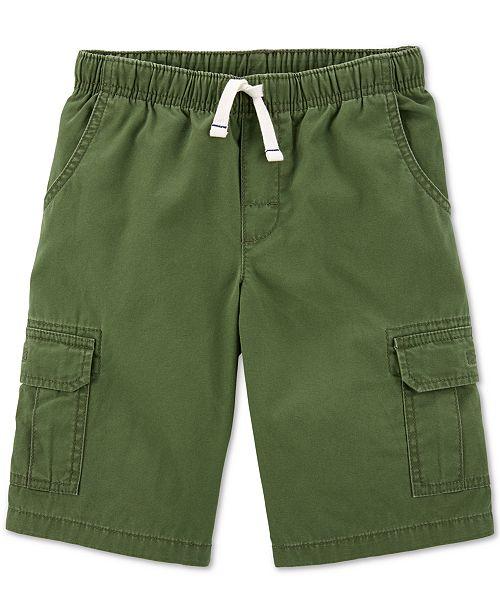 Carter's Little & Big Boys Cotton Cargo Shorts