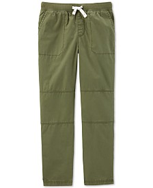 Carter's Little & Big Boys Cotton Pull-On Pants
