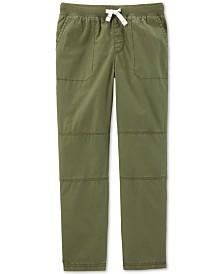Carter's Little & Big Boys Cotton Pull-On Pants