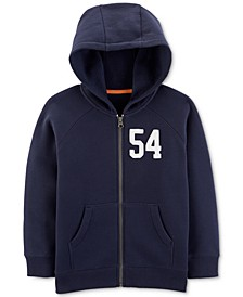 Little & Big Boys Zip-Up Fleece Hoodie