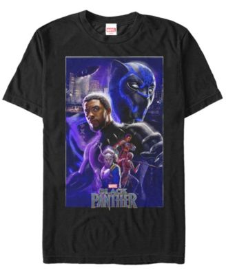The Black Panther Movie Poster Marvel Comics T-Shirt