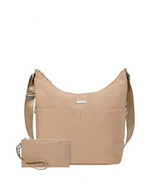 Hobo Crossbody with RFID Wristlet