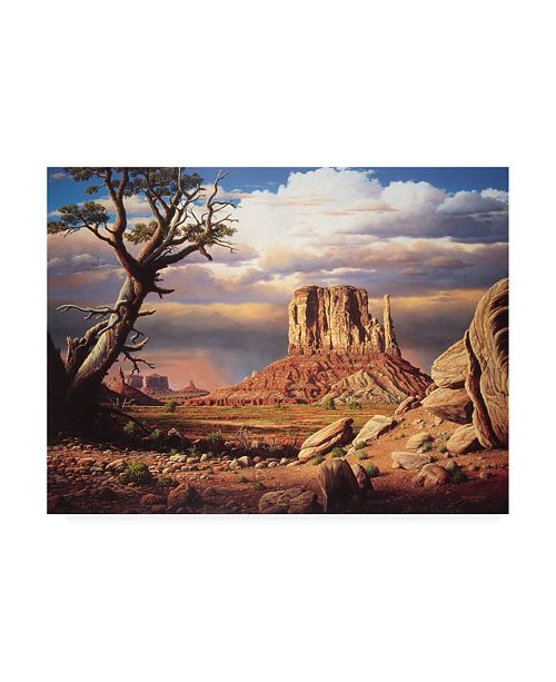 """Trademark Global R W Hedge Home to the Sun Canvas Art - 19.5"""" x 26"""""""