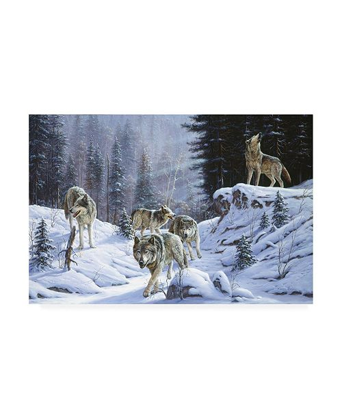 "Trademark Global R W Hedge Final Call Canvas Art - 15.5"" x 21"""