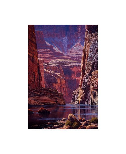 "Trademark Global R W Hedge Higher Light Canvas Art - 27"" x 33.5"""