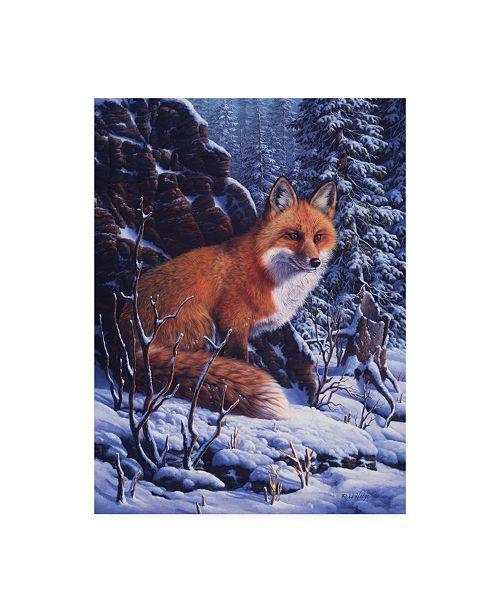 "Trademark Global R W Hedge Audible Hush Canvas Art - 15.5"" x 21"""