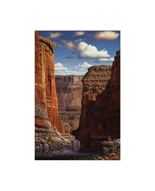 "Trademark Global R W Hedge Heavenly Invitation Canvas Art - 36.5"" x 48"""