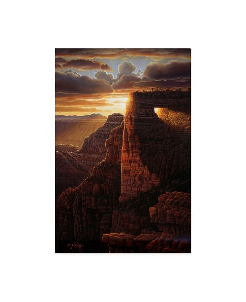 "Trademark Global R W Hedge The Light of Life Canvas Art - 36.5"" x 48"""