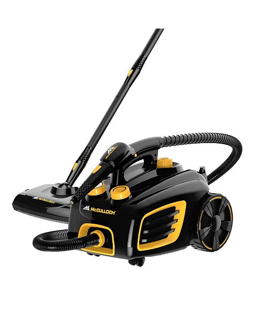 McCulloch 1375 Canister Steam Cleaner 4 Bar