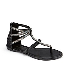 Atlantic Multi Rhinestone Sandals