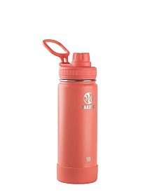 Takeya Actives 18 oz Insulated Stainless Steel Water Bottle with Spout Lid