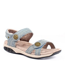 Shoe Grace Leather Adjustable Sandal