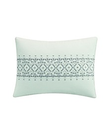 Porto Center Embroidered  Ded Pillow