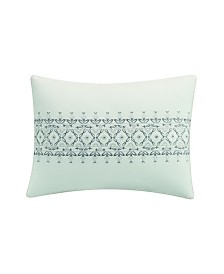 Destinations by Stavros Porto Center Embroidered  Ded Pillow