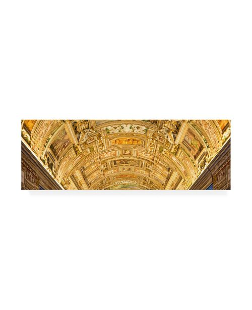 "Trademark Global Philippe Hugonnard Dolce Vita Rome 2 Vatican Museum Canvas Art - 27"" x 33.5"""
