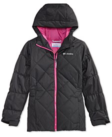 Big Girls Casual Slopes Hooded Jacket