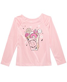 Epic Threads Little Girls Snacks T-Shirt, Created for Macy's
