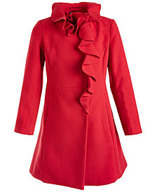 S Rothschild & CO Big Girls Ruffled Coat