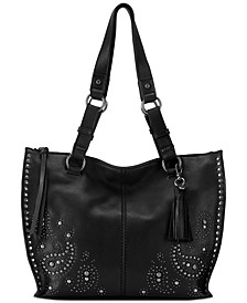 Silverlake Leather Shopper, Created for Macys