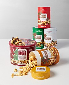 Moose Munch Gourmet Popcorn Holiday Collection