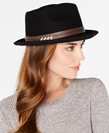 Nine West Wool Felt Porkpie Fedora