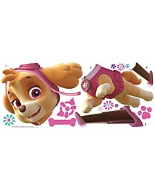 Paw Patrol Skye Peel and Stick Giant Wall Decals