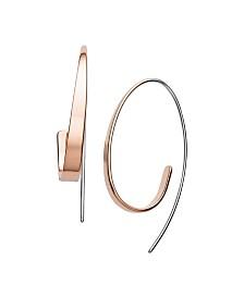 Skagen Women's Kariana Stainless Steel Curl Earrings