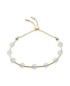 Women's Anette Stainless Steel Glass Beaded Bracelet