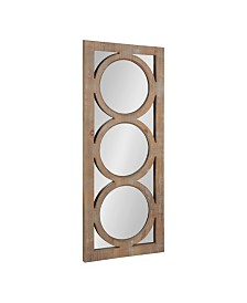 """Kate and Laurel Middlebury Wood Panel Wall Mirror - 17"""" x 42"""""""
