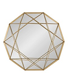 """Keyleigh Metal Accent Wall Mirror - 21"""" x 24"""""""