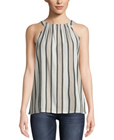 ECI Striped Sleeveless Top