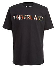 Timberland Little Boys Camo Logo T-Shirt