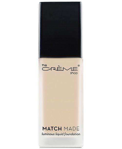 The Creme Shop Match Made Luminous Liquid Foundation