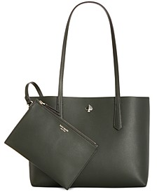 Molly Leather Tote