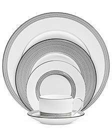Dinnerware, Moderne 5 Piece Place Setting