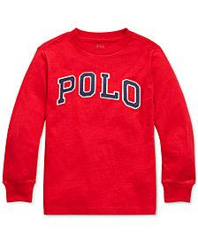 Polo Ralph Lauren Toddler Boys Jersey Cotton Shirt