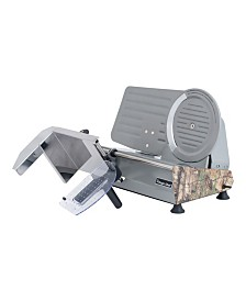 "Magic Chef 8.6"" Meat Slicer with Authentic Real Tree Extra Camouflage Pattern"