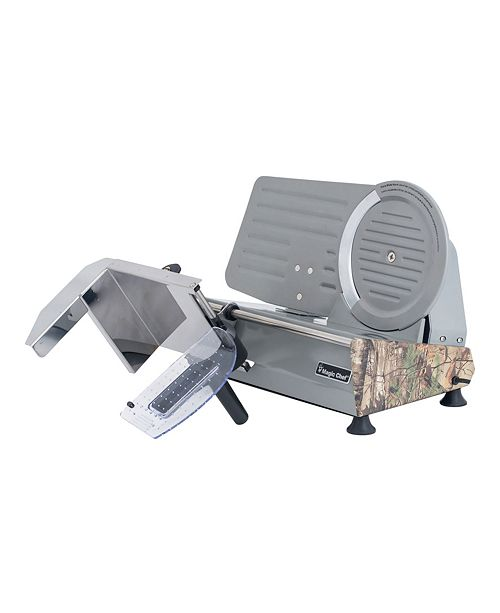 """Intel Magic Chef 8.6"""" Meat Slicer with Authentic Real Tree Extra Camouflage Pattern"""