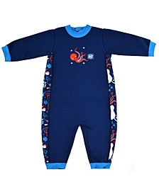 Baby and Toddler Boys and Girls Warm in One Wetsuit