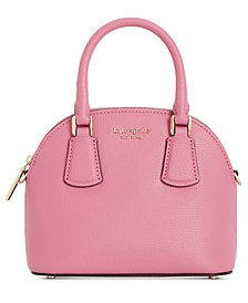 Sylvia Mini Dome Leather Satchel