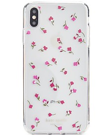 Kate Spade New York Jeweled Meadow Clear iPhone XS Case