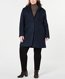 Plus Size Paige Boucle Coat