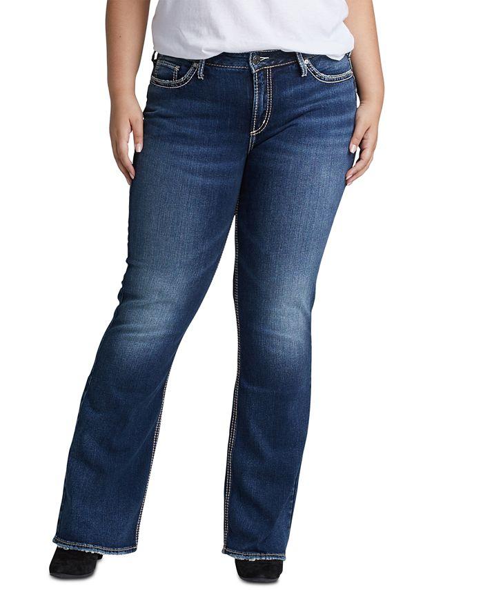 Silver Jeans Co. - Trendy Plus Size Suki Bootcut Jeans