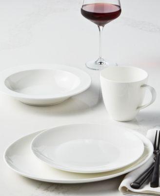 Coupe 12-Pc. Bone China Dinnerware Set, Created for Macy's