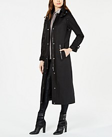 Maxi Hooded Raincoat