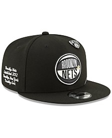 New Era Brooklyn Nets On-Court Collection 9FIFTY Cap