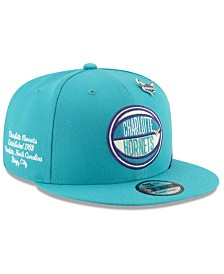 New Era Big Boys Charlotte Hornets 2019 On-Court Collection 9FIFTY Snapback Cap