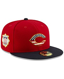 Cincinnati Reds Stars and Stripes 59FIFTY Cap