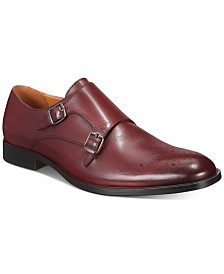 Alfani Sheridan Double-Monk-Strap Oxfords, Created for Macy's